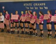 Washington volleyball hosts 4th Annual Dig Pink game