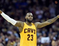 VIDEO: Watch high school teams react to LeBron James' surprise donation of shoes