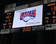 No. 4 Allen wins historic 50th consecutive game, defeats Hebron 45-13