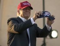 VIDEO: Donald Trump talks high school football at Pro Football Hall of Fame