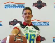 Tenn. long snapper Ben Hoffman receives Under Armour All-America jersey