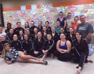 Swimmers raise funds for ailing father of teammate