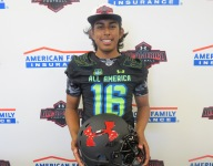 IMG's All-American kicker Ricky Aguayo says he's better than National Champion older brother