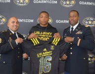 Football runs in the family for U.S. Army All-American Nigel Warrior