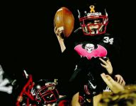 7-year-old fighting cancer scores TD on a Fine night in Oklahoma