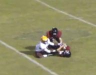 VIDEO: Watch 1-armed DB Michael Orr steal away an incredible interception