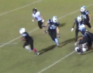 VIDEO: Nature Coast's DeShawn Smith channels his inner Walter Payton on wild TD run