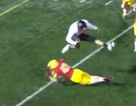VIDEO: The hurdle of the week comes from a Maryland punt returner