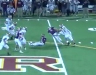 VIDEO: Dylan Cardelli shows how you blow up a play with a pass rush