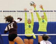 HS Volleyball Roundup: Muskies, Electrics stay tied atop MVL