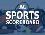 Scores: State tennis tournament (Day 2); Football