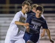 Top-ranked Ithaca boys soccer cruises past Binghamton