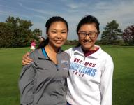 Sister tandem playing big role for Okemos girls golf
