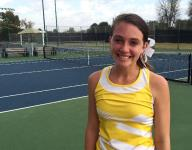 Kickapoo senior Annie Lewis finishes tennis career in victory tears