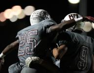 Rattlers strike early, wait out delay for 55-8 win