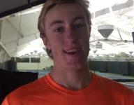 Northville senior Connor Johnston rides wave of tennis in the snow
