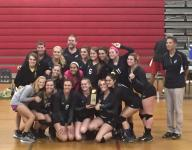 Catholic surges to another district volleyball title