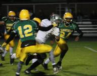 Olivet clinches playoff spot, beats Pennfield, 49-26