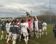 East Lansing boys soccer captures fourth straight district title