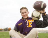 Quartet see double duty this fall on pitch, gridiron