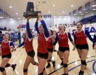 Volleyball: Macon-East earns fifth straight state title