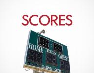 Friday's local high school scoreboard