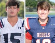After facing death, best friends face off on field