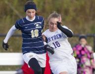 Dryden tops Notre Dame for girls soccer title