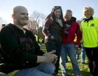 Teams, communities support player with cancer