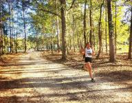 Maclay's Whitworth running XC with pacemaker