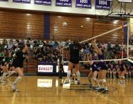6A volleyball first round playoff scores