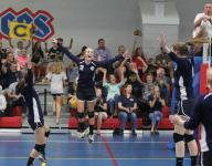 Community Christian volleyball making only history