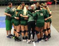 State Volleyball: Snow Canyon gracious in defeat after championship loss