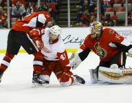 Red Wings lack creativity in 3-1 loss to Senators