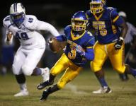 City champs! Riley's 7 TD night lifts Rickards over Godby