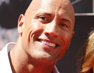 Dwayne 'The Rock' Johnson pumps up Hawaii high school team before state title game