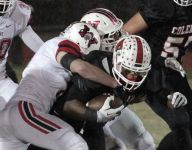 No. 14 Wayne (Ohio) holds off Colerain in state semifinal