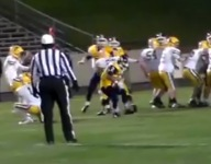VIDEO: This might be the greatest blocked field goal you'll ever see