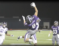 Caisen Sullivan makes one-handed catch that would impress Odell Beckham Jr.