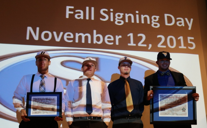 Four South Dade Buccaneer Baseball Players Sign Letters of Intent