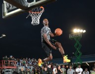 VIDEO: Kwe Parker tears house down in City of Palms dunk contest