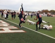 VIDEO: Ohio QB scores game-winning front flip into the end zone