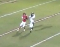 VIDEO: Game-winning, walk-off pick six ends opponent's season