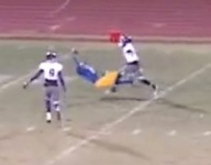 VIDEO: Colorado WR Nicco Young makes incredible one-handed grab while falling to the turf