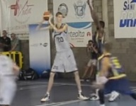VIDEO: 7-foot-6 15-year-old Robert Bobroczky is tearing up European basketball
