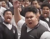 VIDEO: New Zealand rugby legend Jonah Lomu's passing honored by his high school with Haka tribute