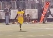 VIDEO: The only Hallandale loser against American Heritage was an unlucky cheerleader