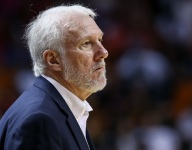Spurs coach Gregg Popovich is not enthused by plan to name school after him