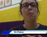 Lexington senior volleyball player Mackenzie Weaver