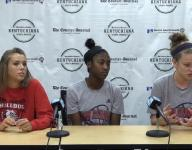 Video | New Albany girls at The CJ basketball media day